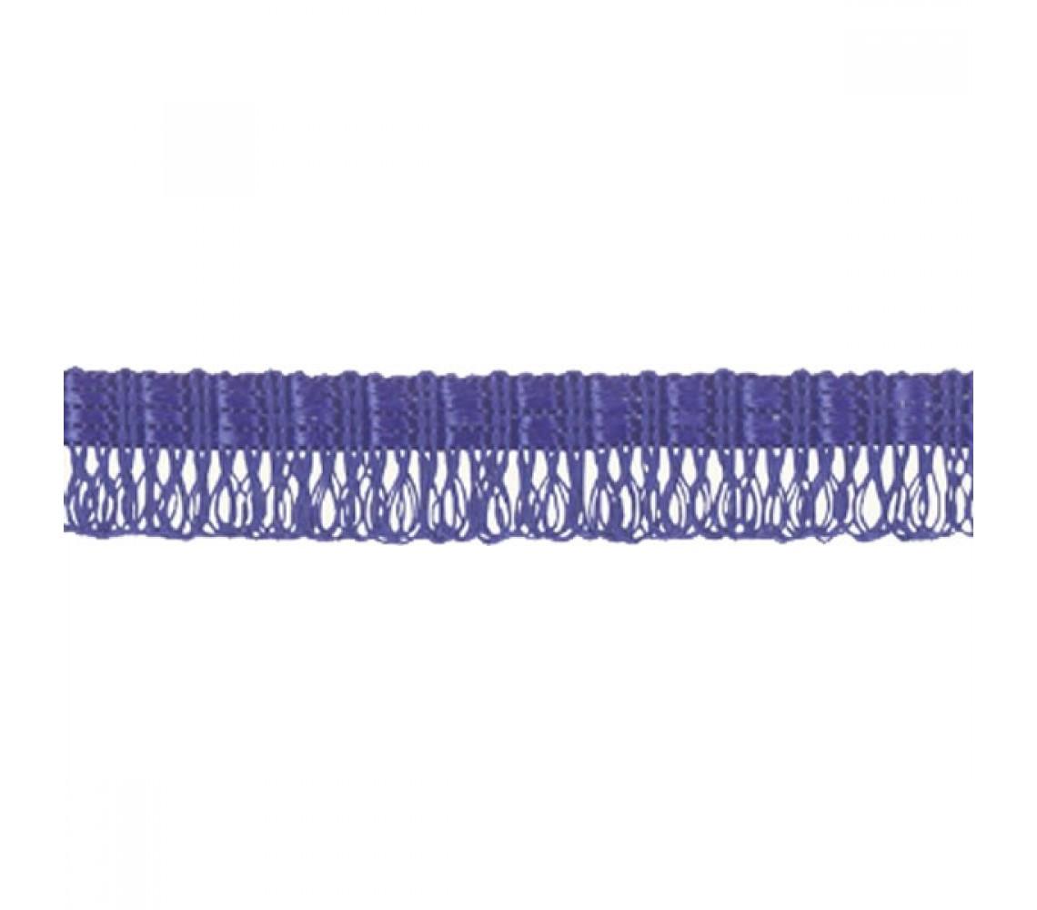Beryl Pennant Fringe Blue 22mm