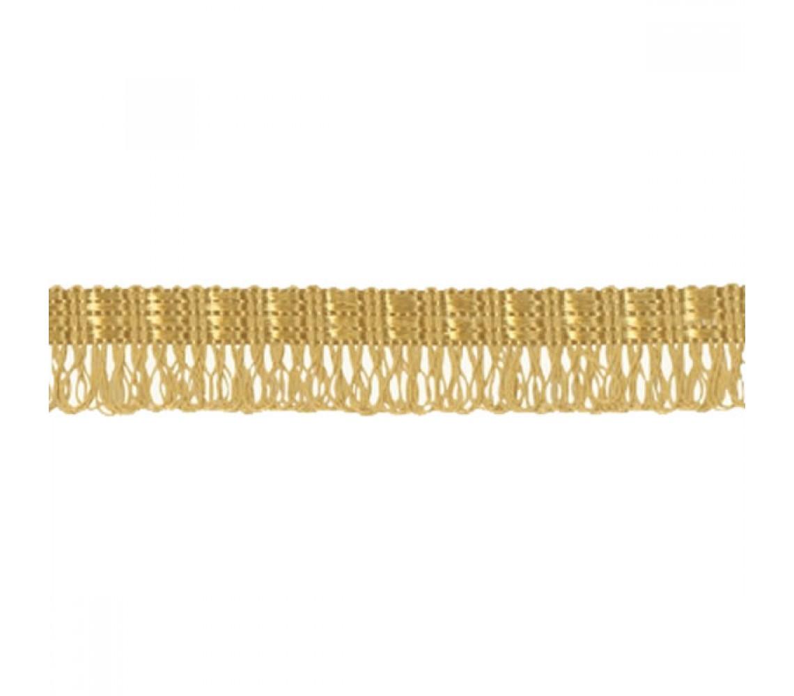 Beryl Pennant Fringe Gold 22mm