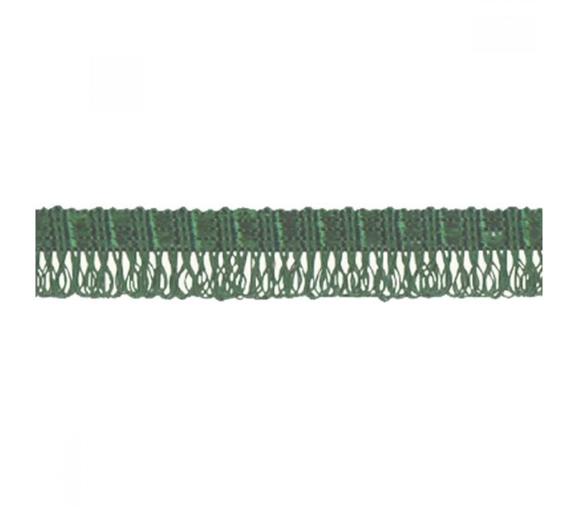 Beryl Pennant Fringe Green 22mm