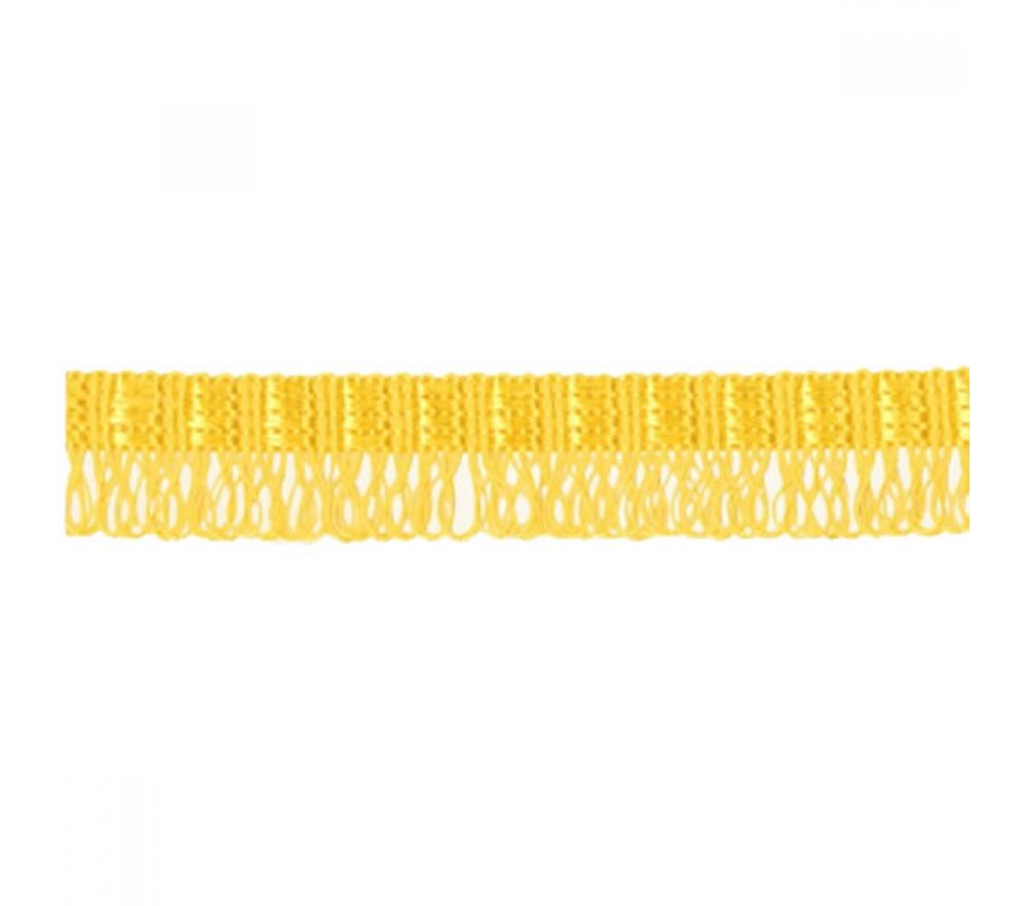 Beryl Pennant Fringe Yellow 22mm